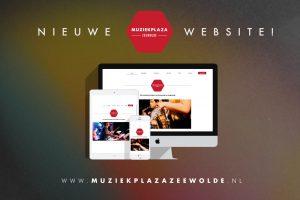 nieuwe website muziekplaza zeewolde